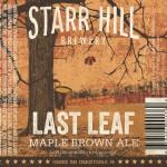 Starr Hill Last Leaf